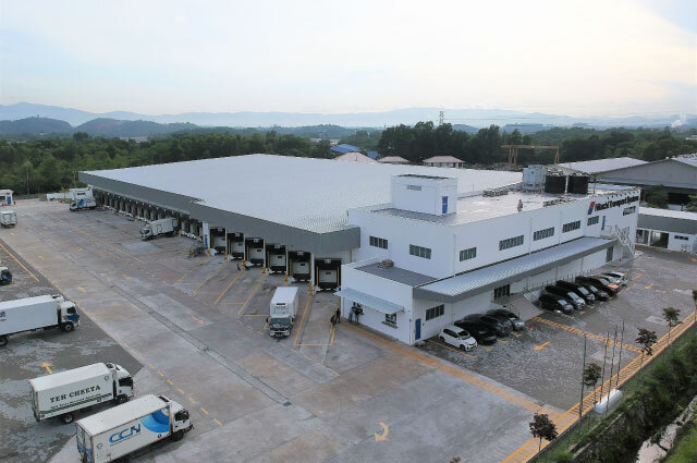 Hitachi Transport System New Cold Warehouse Project